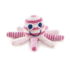 OCTOPUS RATTLE - PINK
