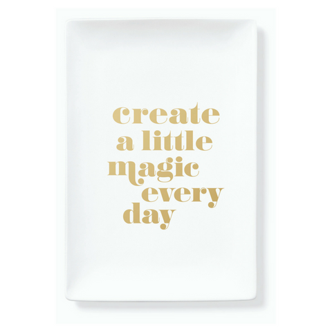 CREATE MAGIC TRINKET TRAY