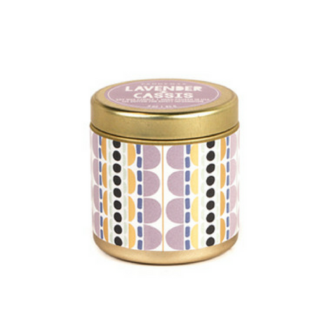 LAVENDER & CASSIS TIN CANDLE