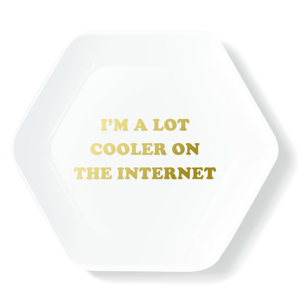 COOLER ON THE INTERNET TRINKET TRAY