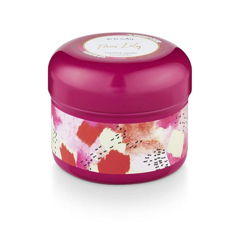 THAI LILY TIN CANDLE