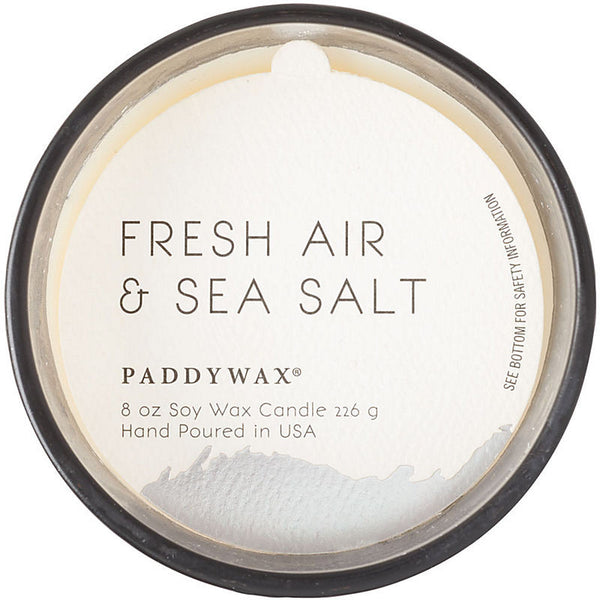 FRESH AIR & SEA SALT GILT CANDLE