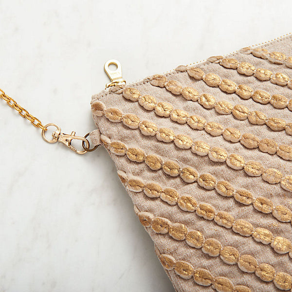 ROSE GOLD CROSSBODY PURSE