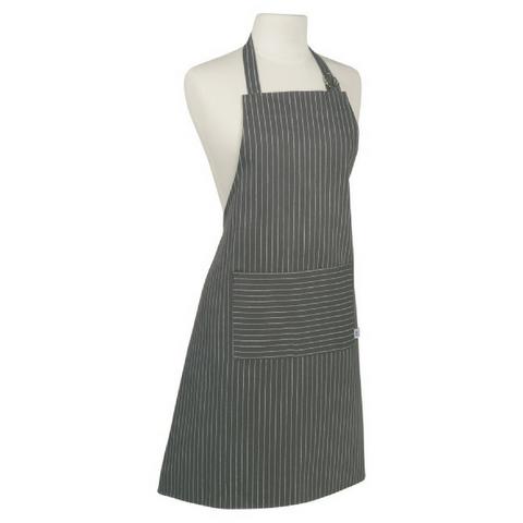 BASIC PINSTRIPE APRON - Give Lovely