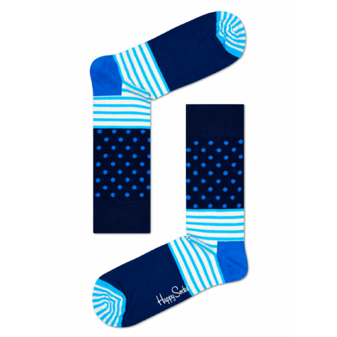 STRIPES & DOTS SOCKS - MENS