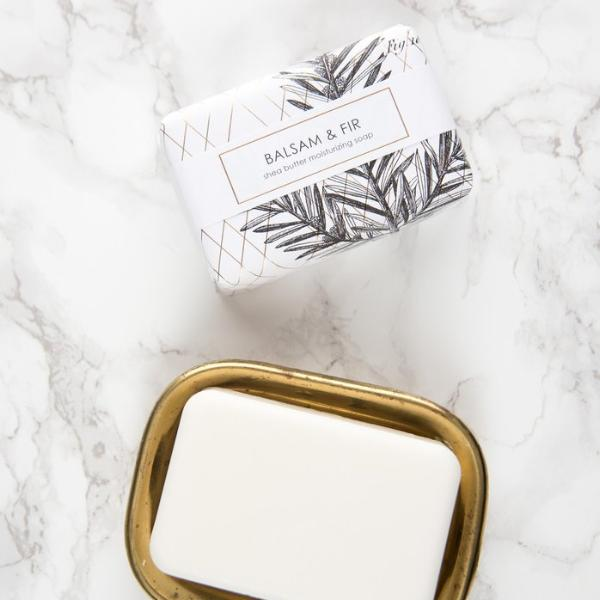 SHEA BUTTER BATH BAR - BALSAM & FIR