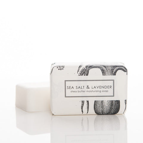 SHEA BUTTER BATH BAR - SEA SALT & LAVENDER