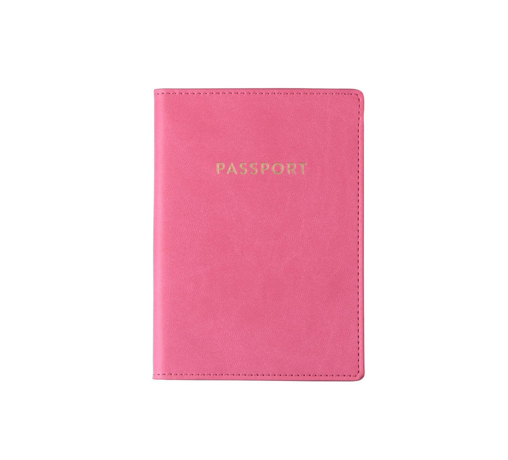 PINK PASSPORT CASE