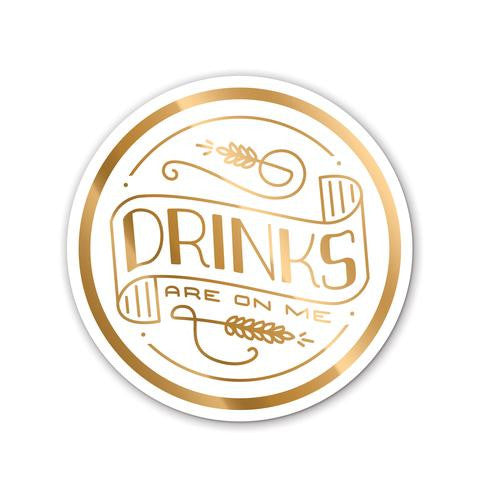 DRINKS COASTERS - Give Lovely