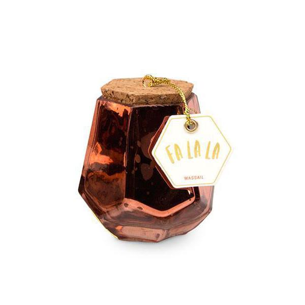 WASSAIL MERCURY PRISM CANDLE