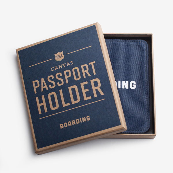 BOARDING PASSPORT HOLDER