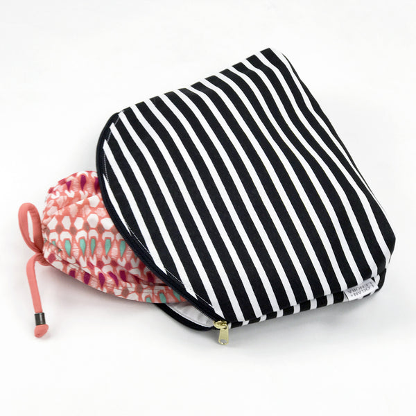 SIMPLE CLUTCH - AUDREY STRIPE
