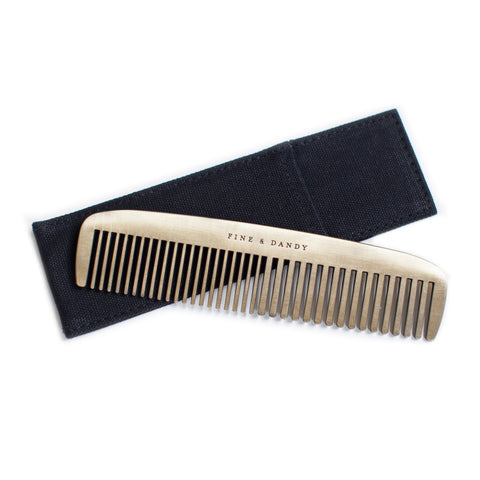 FINE AND DANDY BRASS COMB - Give Lovely