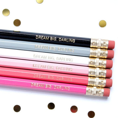 DREAM BIG DARLING PENCIL SET - Give Lovely