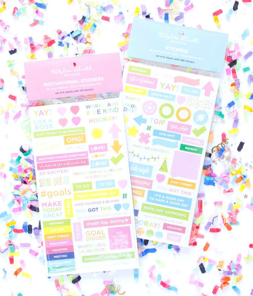 MOTIVATIONAL PLANNER STICKERS