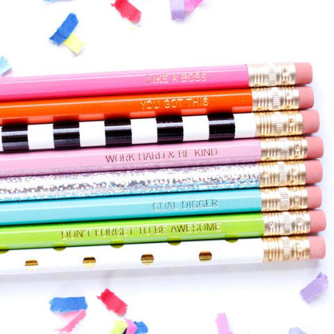 PEP TALK PENCILS