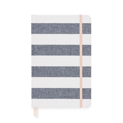 ESSENTIAL JOURNAL: CHAMBRAY STRIPE - Give Lovely