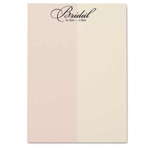 BRIDAL NOTEPAD - Give Lovely