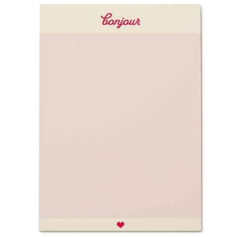 BONJOUR NOTEPAD - Give Lovely
