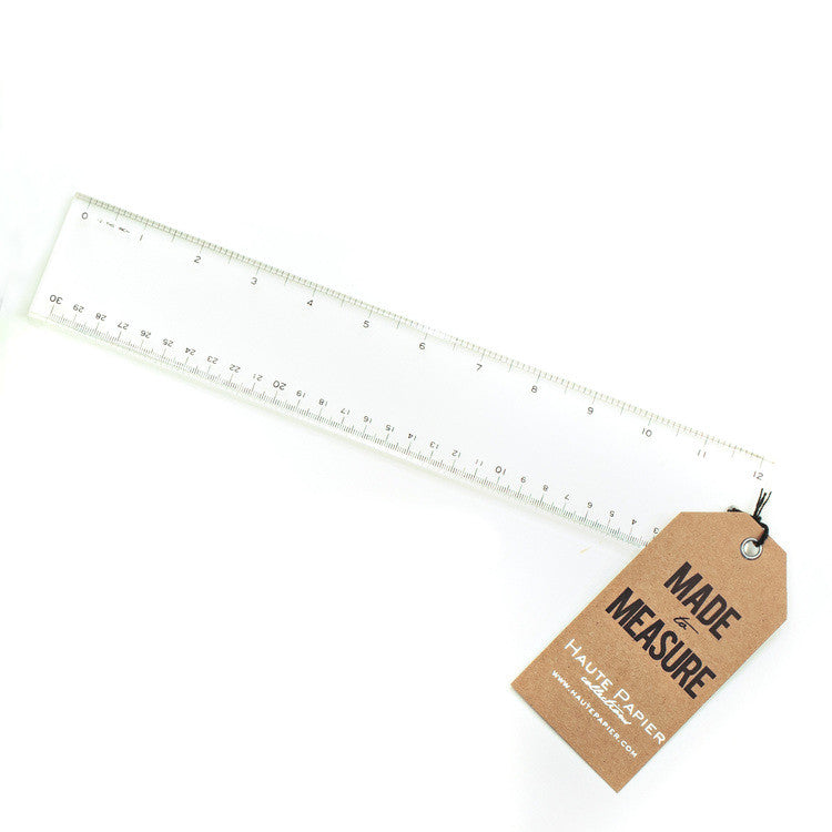 ACRYLIC RULER - Give Lovely