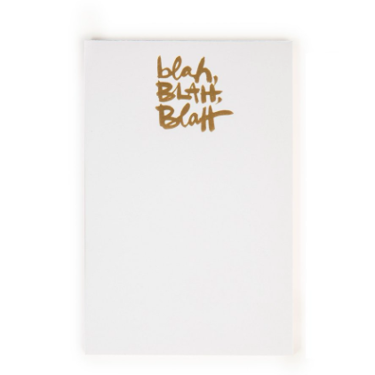 BLAH BLAH BLAH NOTEPAD