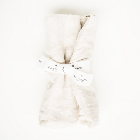 LUXE MUSLIN SWADDLE - MOONBEAM