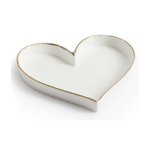 HEART TRINKET TRAY - Give Lovely