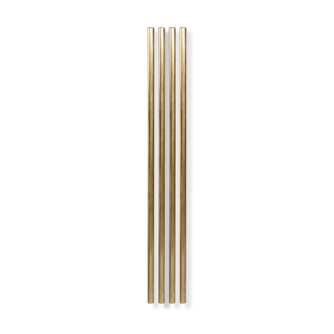 GOLD METAL COCKTAIL STRAWS - Give Lovely