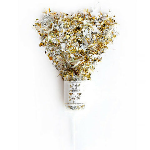 ALL THAT GLITTERS PUSH-POP CONFETTI - Give Lovely
