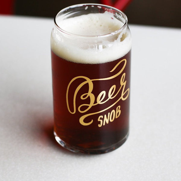 BEER SNOB CAN GLASS - Give Lovely