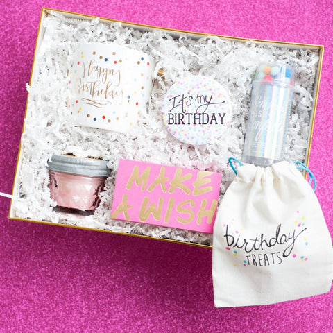 BIRTHDAY TREATS - Give Lovely