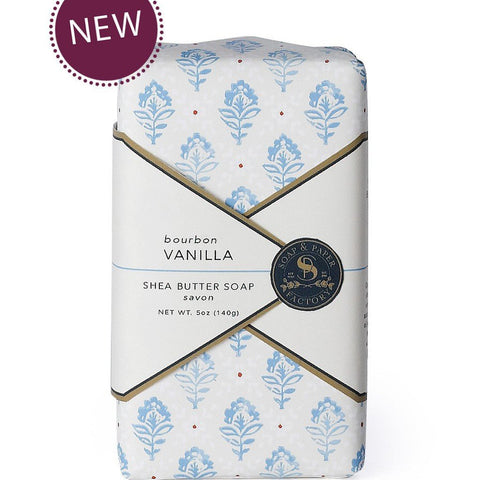 BOURBON VANILLA SHEA BUTTER SOAP - Give Lovely