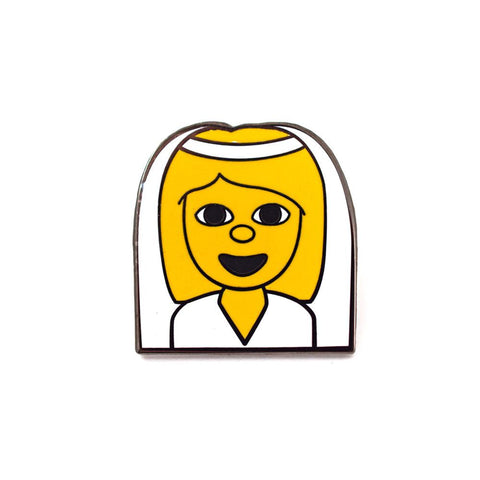 BRIDE EMOJI PIN - Give Lovely
