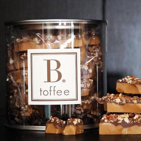 MILK CHOCOLATE TOFFEE CANISTER