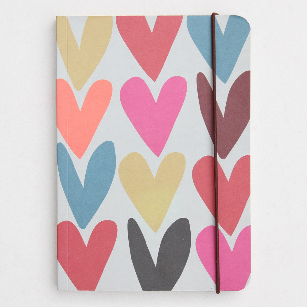 HEARTS NOTEBOOK - Give Lovely
