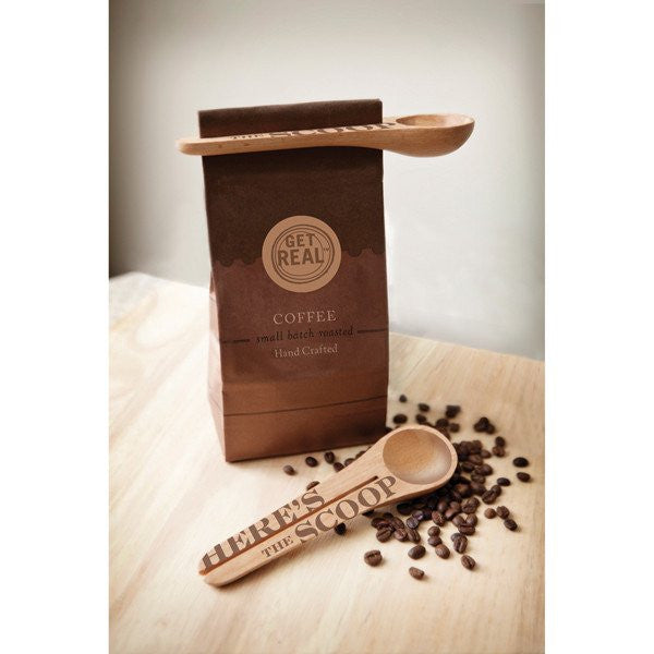 COFFEE SCOOP & CLIP - Give Lovely