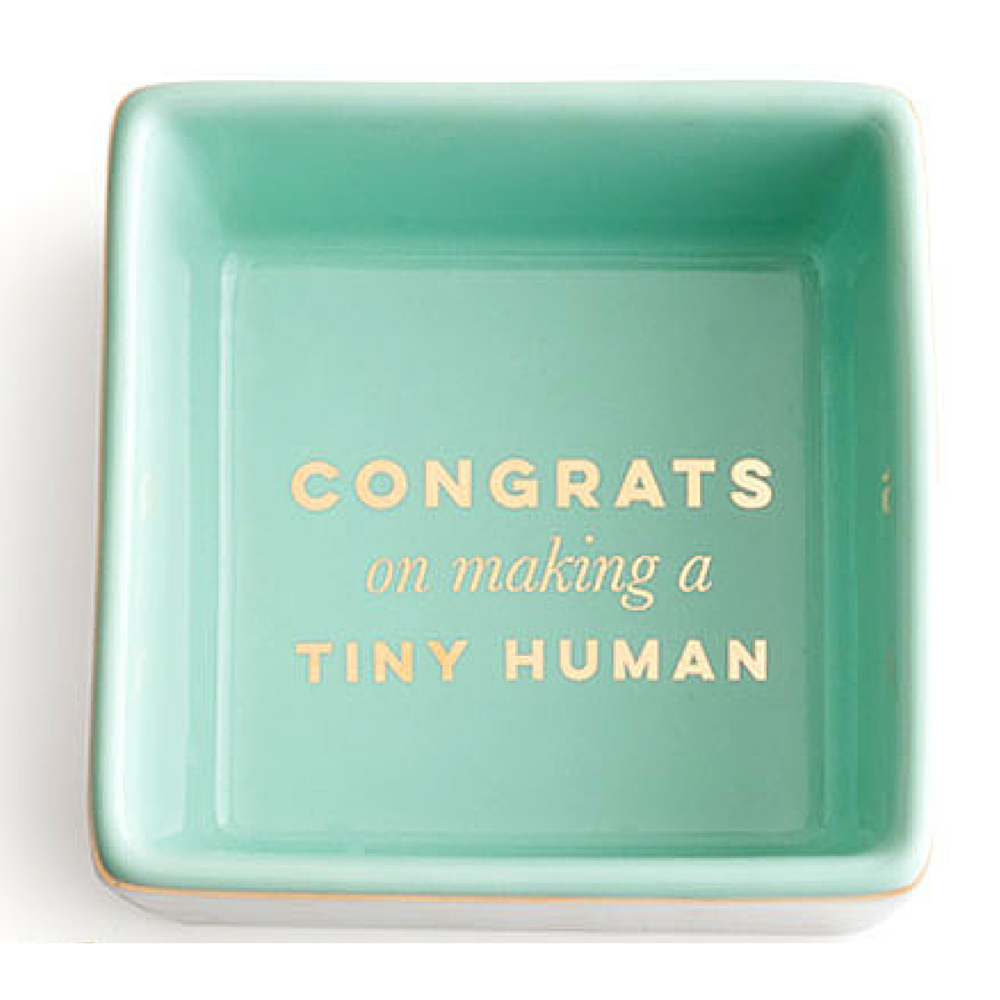 CONGRATS ON MAKING A TINY HUMAN DISH - Give Lovely