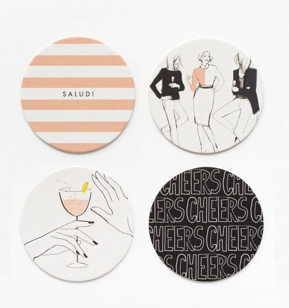 CHEERS! COASTER SET