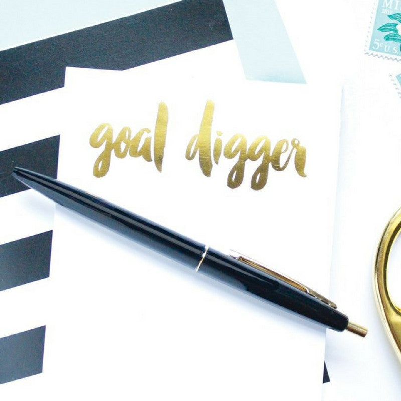 GOAL DIGGER NOTEPAD - Give Lovely