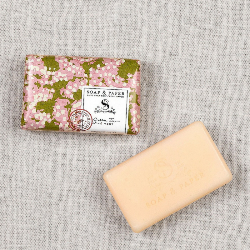 GREEN TEA PETITE BAR SOAP - Give Lovely