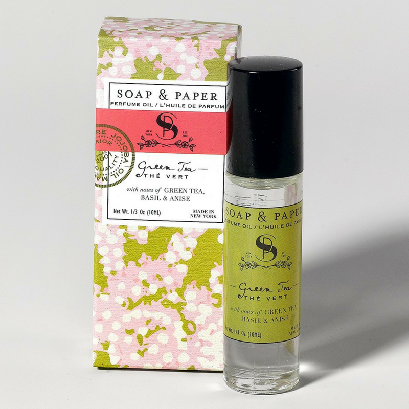 GREEN TEA PERFUME OIL - Give Lovely