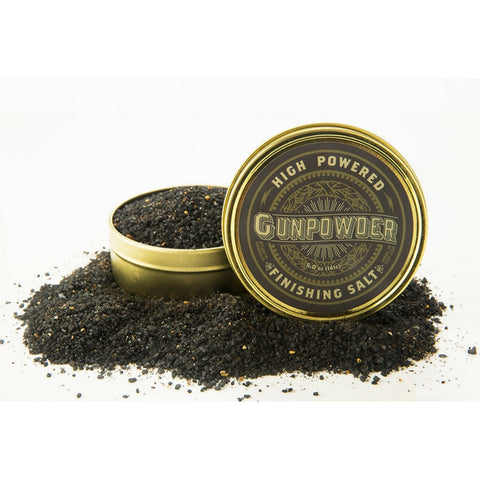 GUNPOWDER FINISHING SEA SALT - Give Lovely