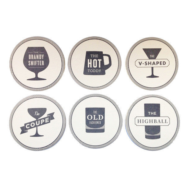HAPPY HOUR COASTER SET - Give Lovely