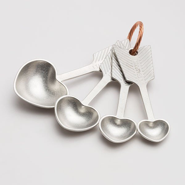 HEART MEASURING SPOONS - Give Lovely