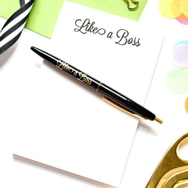 LIKE A BOSS NOTEPAD - Give Lovely