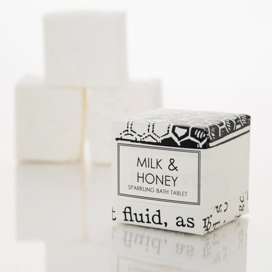 BATH FIZZY - MILK & HONEY