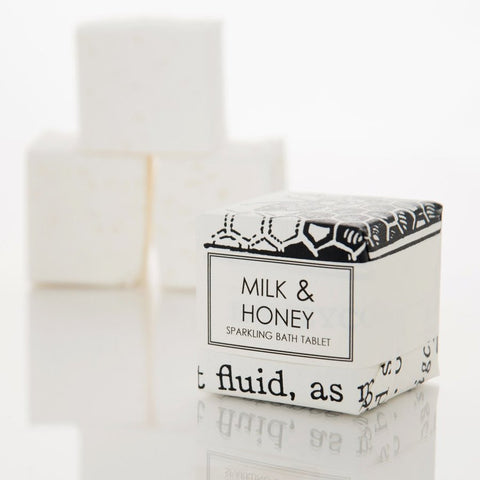 BATH FIZZY - MILK & HONEY - Give Lovely