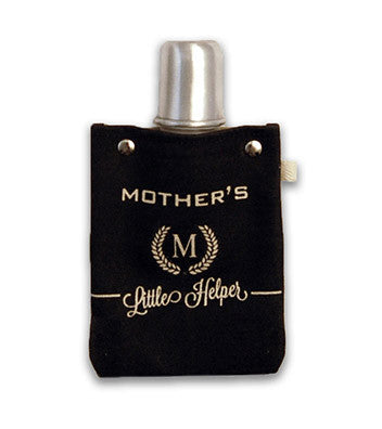 MOTHER'S HELPER CANVAS FLASK