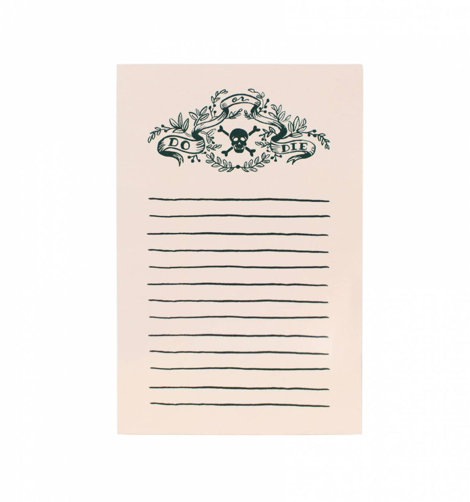 DO OR DIE NOTEPAD - Give Lovely