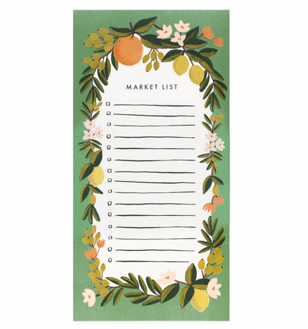 CITRUS FLORAL MARKET LIST - Give Lovely
